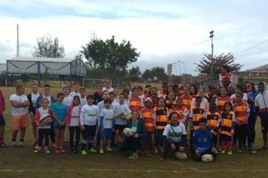 Projeto Avá Etê Rugby recebe inscrições para o esporte em Itatiaia