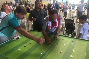 Resende recebe etapa do estadual de futebol de mesa - Fla, Flu e Bota