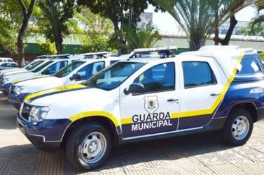 Guarda Municipal de Volta Redonda recebe novas viaturas