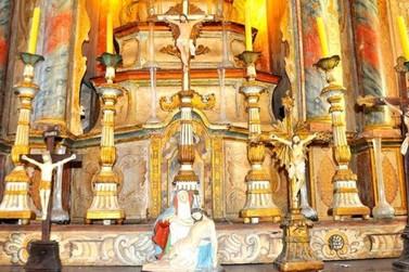 Exposição em Angra dos Reis, RJ, retrata a celebração de Corpus Christi