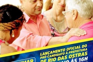 Lançamento da Pré-Candidatura a Prefeito de Rio das Ostras