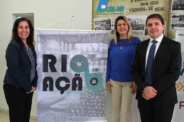 Rosi Farias participa em Volta Redonda do evento Rio em Ação