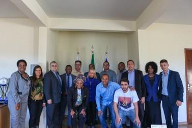 Consulado da Angola visita Vassouras para futura parceria cultural