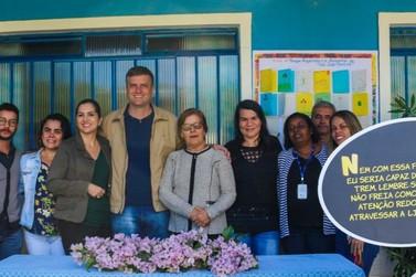 Escola Municipal de Barão de Vassouras recebe doação de cinemateca