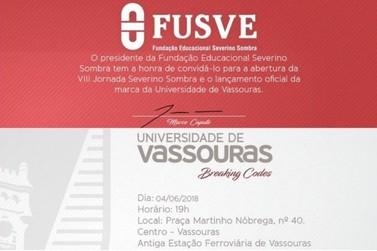 Lançamento oficial da marca da Universidade de Vassouras