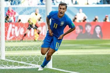 No sufoco, Brasil supera a Costa Rica e consegue primeira vitória na Copa