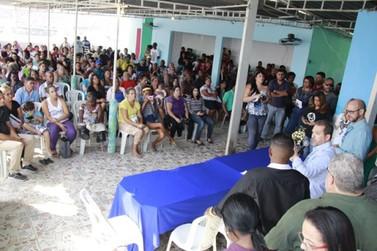 Senador Eduardo Lopes é recebido em Manguariba, Zona Oeste do Rio