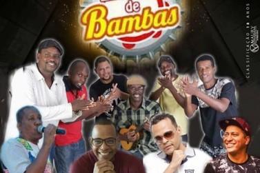 Com sambista Marcelo Pena, 'Encontro de Bambas' é atração em Volta Redonda