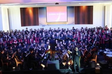 Espetáculo 'Em Canto & Orquestra' vai reunir 350 coristas em Resende