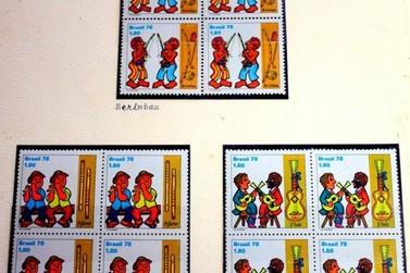 Exposição de selos históricos pode ser conferida em Resende