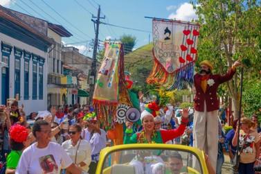 'Arte Sonora' leva atividades culturais aos moradores de Conservatória