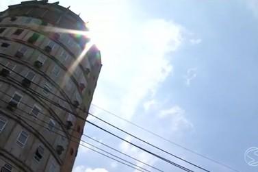 Defesa Civil interdita edifício redondo em Volta Redonda