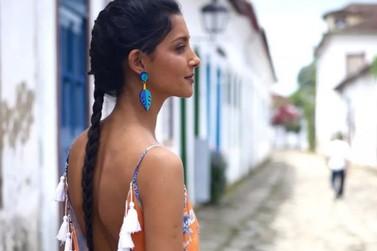 Paraty em Paris: modelo representa estado do Rio nos principais eventos da moda