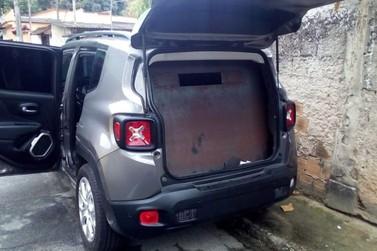 PM encontra veículo blindado e clonado por criminosos em Angra dos Reis