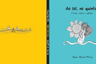 Autora de Resende divulga livro sobre contos do cotidiano