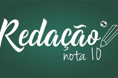 Estudantes do Sul do Rio podem se inscrever no 'Redação Nota 10'