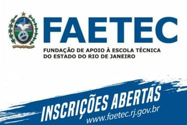 Inscrições para cursos gratuitos na Faetec terminam na quinta-feira