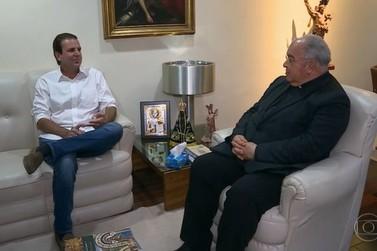 Paes visita Dom Orani Tempesta e apresenta propostas para população mais pobre
