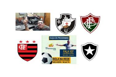 Resenha esportiva do Programa Bola na Rede da Rádio 107FM Vassouras