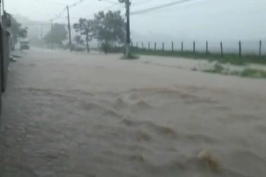 Defesa Civil de Porto Real registra 76mm de chuva em uma hora