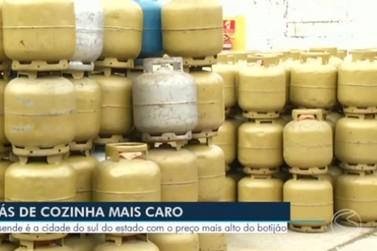 Preço do botijão de gás em Resende é o mais alto no Sul do Rio