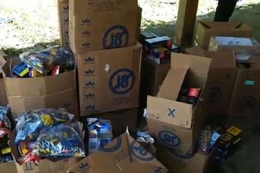 PRF recupera carga de cigarros roubada na Rio-Santos em Angra