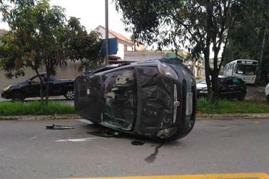 Acidente é registrado no bairro Vila Rica, em Volta Redonda