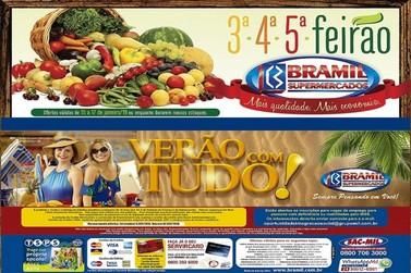 Grande FEIRÃO de OFERTAS nos Supermercados Bramil de Vassouras. Não perca tempo.