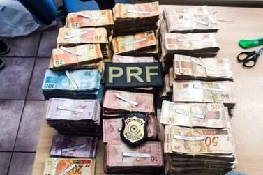 Homem é preso com mais de R$ 500 mil na BR-101, em Angra dos Reis