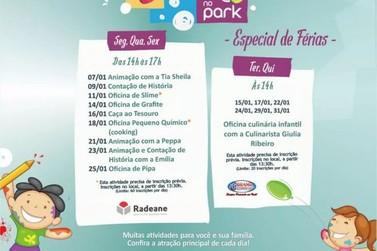 Oficina de culinária para crianças é oferecida durante mês de janeiro em VR