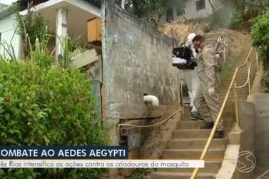 Ações de combate ao mosquito aedes aegypti são intensificadas em Três Rios