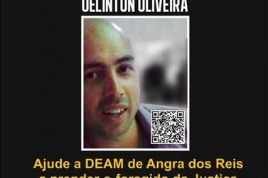 Disque denúncia divulga cartaz procurando homem que agrediu mulher em Angra