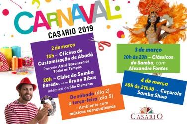 Festa e folia no Carnaval do Casario