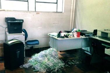 Sede do Fundo da Previdência Social de Barra Mansa é invadida