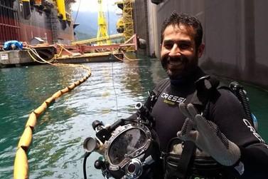 Enterrado corpo de mergulhador de Barra Mansa que morreu na Bacia de Campos