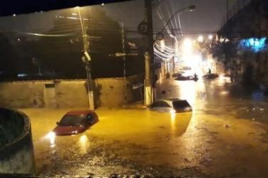 Vinte famílias ficam desalojadas após temporal atingir Volta Redonda