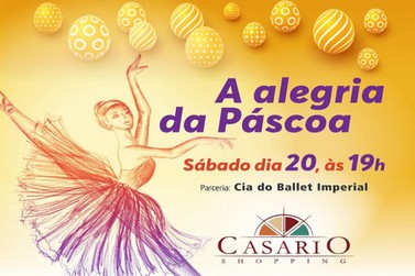 Ballet na Páscoa do Casario Shopping