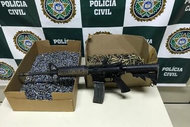 Cinco mil munições e um fuzil são apreendidos durante operação em Paraty