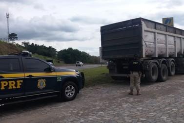 Caminhoneiro é preso com carreta adulterada na Via Dutra, em Piraí