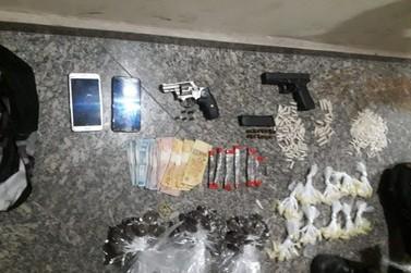 Grupo é detido com armas e drogas em Volta Redonda