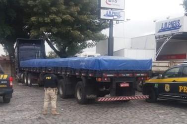 Mais um caminhoneiro é preso com carreta adulterada na Via Dutra, em Resende