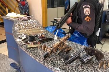 Presos cinco suspeitos de assalto a joalheria em Barra do Piraí