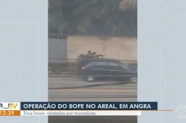 Troca de tiros é registrada durante operação do Bope em Angra dos Reis