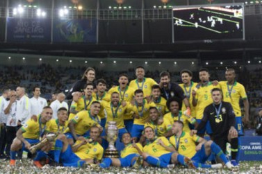 Brasil bate Peru e conquista nono título