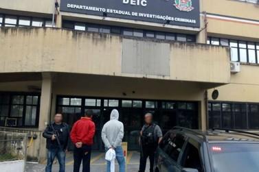Irmãos são presos suspeitos de participar de quadrilha que atuava em Vassouras