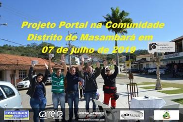 Projeto Portal na Comunidade visita o distrito de Massambará, em Vassouras