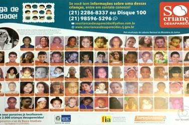Lei determina que Delegacias do RJ informem desaparecimento de crianças a FIA