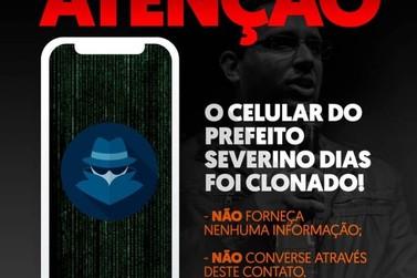 Prefeito de Vassouras vai à polícia para denunciar que teve o celular clonado