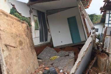 Forte chuva causa estragos em Barra do Piraí e Valença