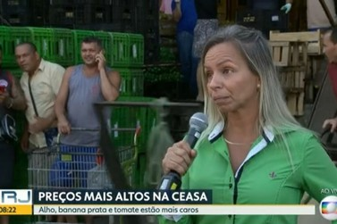 Alimentos têm alta de preço na Central de Abastecimento do Estado do RJ